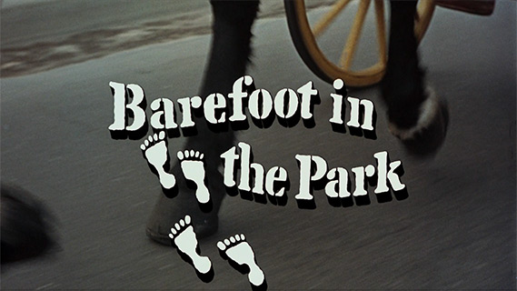 Robert Redford: Barefoot in the Park (1967) title sequence