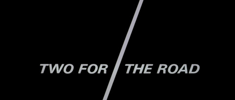Two for the Road (1967) 20th Century Fox - Blu-ray movie title