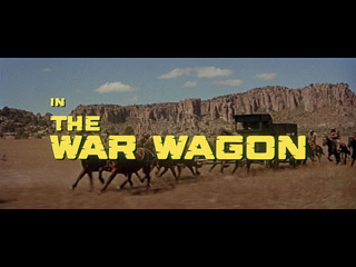 The War Wagon (1967) blu-ray movie title