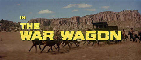 The War Wagon (1967) movie title