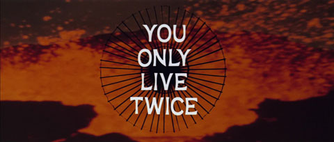 You Only Live Twice (1967) Sean Connery - blu-ray movie title