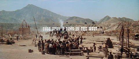 C'era una volta il West / Once Upon a Time in the West (1968) Ennio Morricone - blu-ray movie title