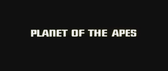 Planet of the apes movie title