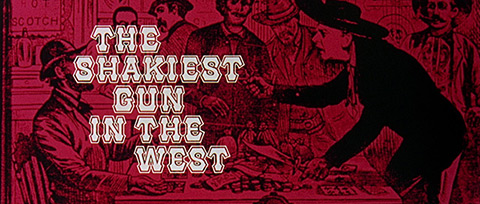 The Shakiest Gun in the West (1968) Phill Norman - title sequence