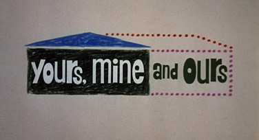 Yours, Mine and Ours (1968) Henry Fonda - blu-ray movie title