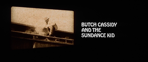 Butch Cassidy and the Sundance Kid (1969) Robert Redford - blu-ray movie title