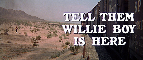 Tell Them Willie Boy Is Here (1969) Robert Redford - blu-ray movie title