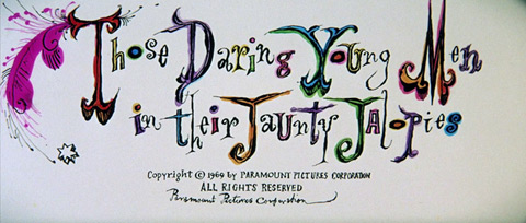 Those Daring Young Men in Their Jaunty Jalopies (1969) Paramount Pictures