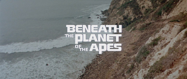 Beneath the Planet of the Apes movie title