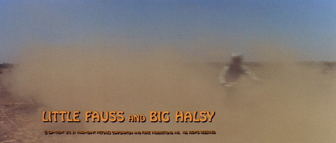 Little Fauss and Big Halsy (1970) Robert Redford - blu-ray movie title