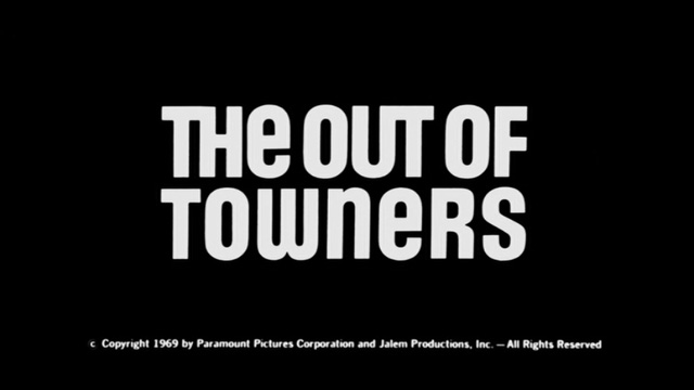 The out of towners 1970 movie title