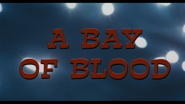 Bay of blood (1971) movie title