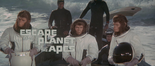 Escape from the Planet of the Apes movie title