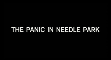 The Panic in Needle Park (1971) Al Pacino - blu-ray movie title