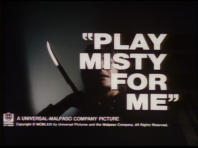 Play Misty for Me movie trailer title