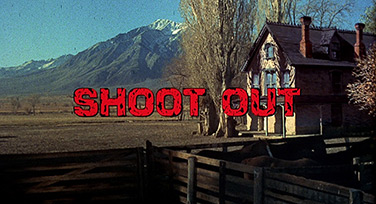 Shoot Out (1971) Gregory Peck - Blu-ray movie title