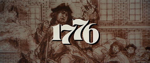 1776 (1972) Columbia Pictures - blu-ray movie title
