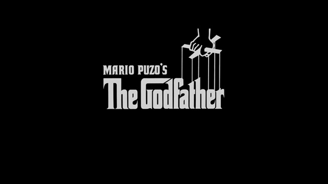 The Godfather (1972) movie title