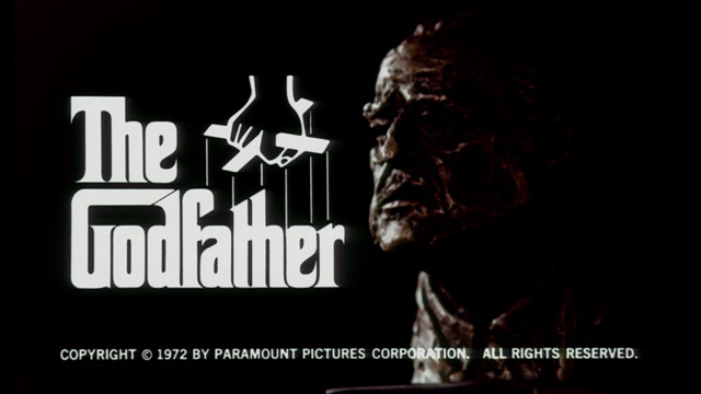The Godfather 1972 trailer title