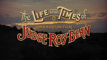 The Life and Times of Judge Roy Bean (1972) John Huston - blu-ray movie title