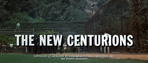 The New Centurions (1972) Columbia Pictures - blu-ray movie title