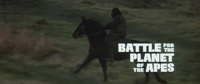 Battle for the Planet of the Apes movie title