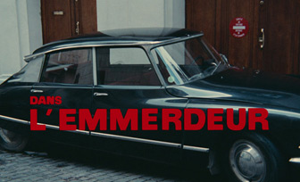 L'emmerdeur / A Pain in the Ass (1973) Lino Ventura - blu-ray movie title