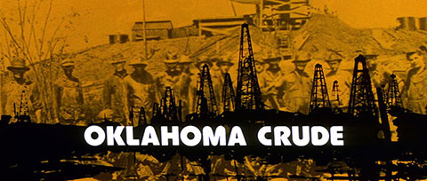 Oklahoma Crude (1973) Columbia Pictures - blu-ray movie title