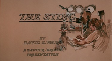 The Sting (1973) Paul Newman - blu-ray movie title