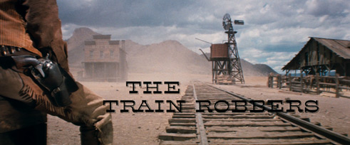 The Train Robbers (1973) movie title
