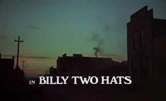 Billy Two Hats (1974) Gregory Peck - Blu-ray movie title
