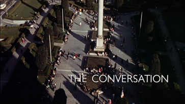 The Conversation (1974) Francis Ford Coppola - blu-ray movie title