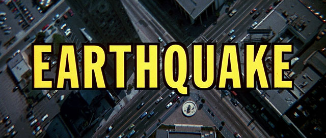 Earthquake (1974) Charlton Heston | the Movie title stills