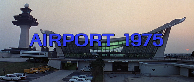 Gloria Swanson: Airport 1975 (1974) title sequence