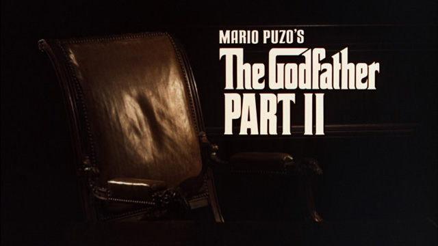 The Godfather: Part II 1974 movie title