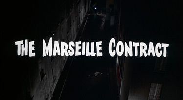 The Marseille Contract (1974) Michael Caine - blu-ray movie title