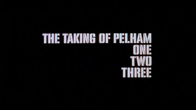 The taking of Pelham one two three 1974 movie title