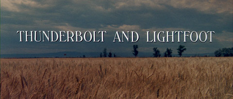 Thunderbolt and Lightfoot (1974) Wayne Fitzgerald - title sequence