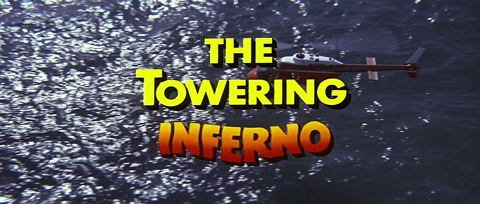 The Towering Inferno (1974) Fred Astaire - Blu-ray movie title