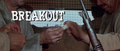Breakout (1975) Columbia Pictures - blu-ray movie title