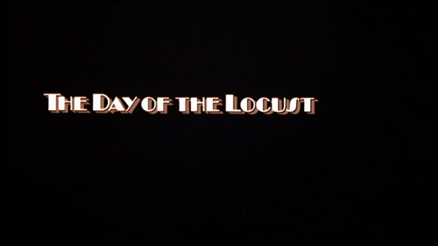 The Day of the Locust 1975 movie title