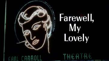Farewell, My Lovely (1975) Harry Dean Stanton - blu-ray movie title