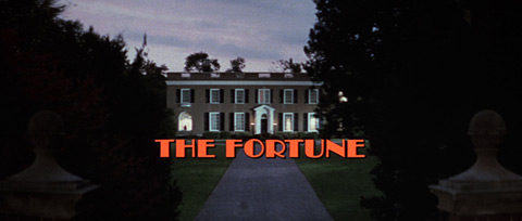 The Fortune (1975) movie title