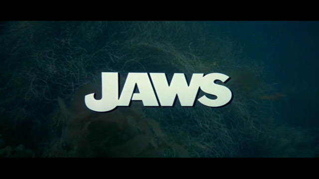 Jaws 1975 movie title