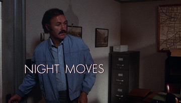 Night Moves (1975) Wayne Fitzgerald - title sequence