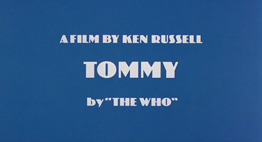 Tommy (1975) movie title