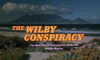 The Wilby Conspiracy (1975) Michael Caine - blu-ray movie title