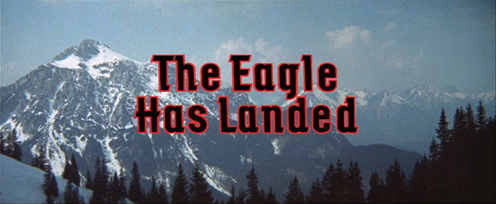 The Eagle Has Landed (1976) Michael Caine - blu-ray movie title