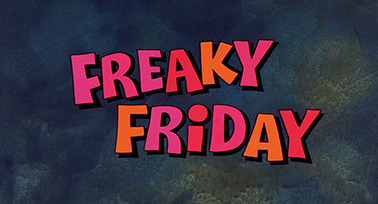 Freaky Friday (1976) Walt Disney Pictures - blu-ray movie title