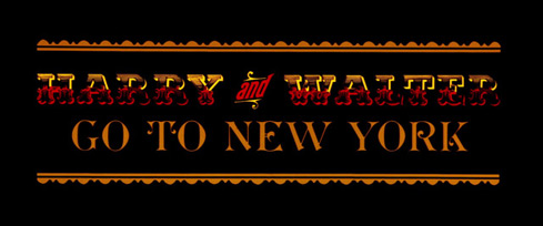 Harry and Walter Go to New York (1976) Phill Norman - title sequence
